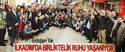 Erdoğan Tok; İlkadım'da Birliktelik Ruhu Yaşanıyor