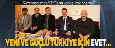 Erdoğan Tok, Referandumda STK'ların katkısı çok önemli