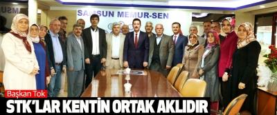 Erdoğan Tok, Stk'lar Kentin Ortak Aklıdır