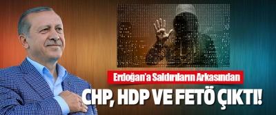 Erdoğan'a Saldırıların Arkasından CHP, HDP Ve FETÖ Çıktı!