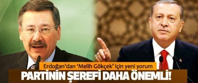 Erdoğan'dan 'Melih Gökçek' için yeni yorum: Partinin şerefi daha önemli!