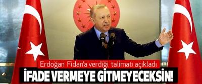 Erdoğan'dan MİT Müsteşarı Fidan'a talimat: İfade vermeye gitmeyeceksin!