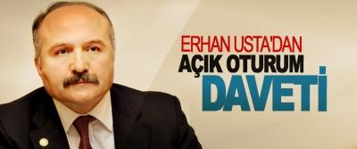 Erhan Usta'dan Açık Oturum Daveti