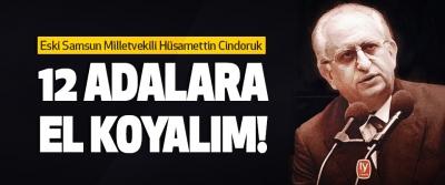 Eski Samsun Milletvekili Hüsamettin Cindoruk