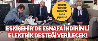 Eskişehir'de Esnafa İndirimli Elektrik Desteği Verilecek!