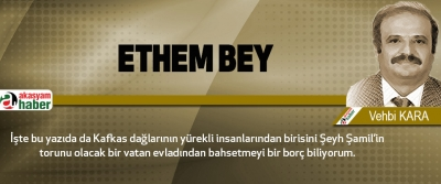 Ethem Bey