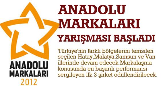 Anadolu Markaları Yarışması Başladı