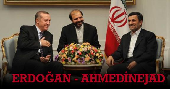Erdoğan-Ahmedinejad ile görüştü.