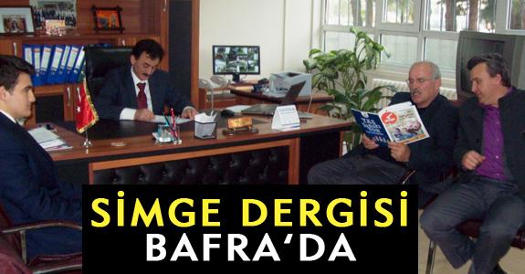 SİMGE DERGİSİ BAFRA'DA!