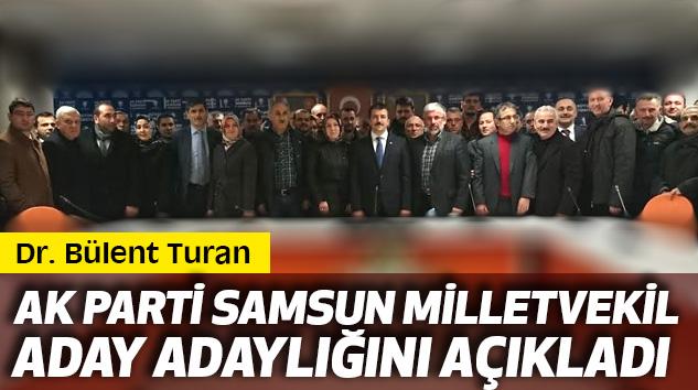 Ak Parti Samsun Milletvekil Aday Adaylığını Açıkladı