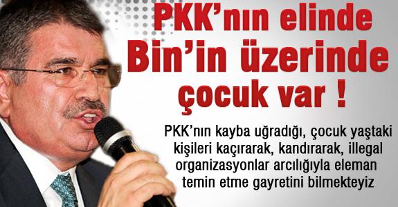 PKK'nın elinde Bin'in üzerinde çocuk var!