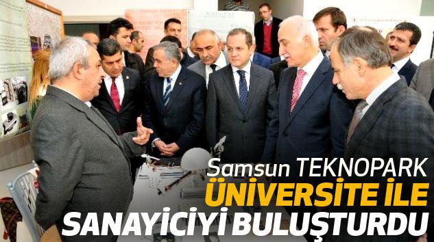 Samsun TEKNOPARK, Üniversite İle Sanayiciyi Buluşturdu