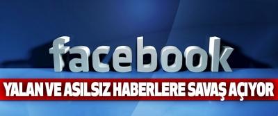 Facebook Yalan Ve Asılsız Haberlere Savaş Açıyor