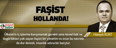 Faşist Hollanda!