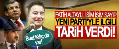 Fatih Altaylı, isim isim sayıp yeni Parti'yle ilgili tarih verdi!