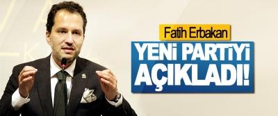 Fatih Erbakan Yeni Partiyi Açıkladı!