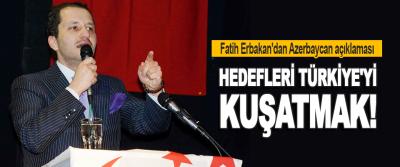 Fatih Erbakan'dan Azerbaycan Açıklaması