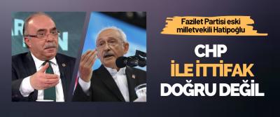 Fazilet Partisi eski milletvekili Ömer Vehbi Hatipoğlu