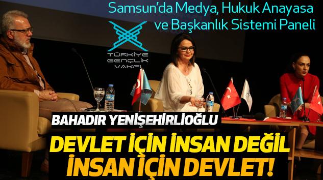 Samsun'da Medya, Hukuk, Anayasa Ve Başkanlık Sistemi Paneli