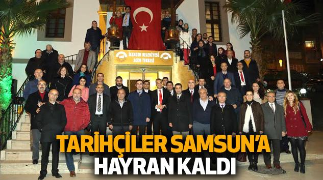 Tarihçiler Samsun'a Hayran Kaldı