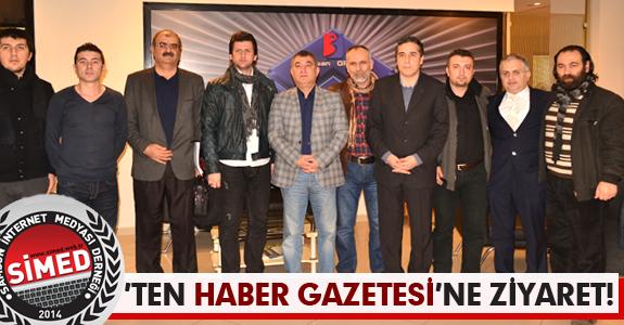 SİMED'TEN HABER GAZETESİ'NE ZİYARET!