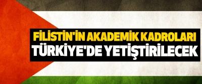 Filistin'in Akademik Kadroları Türkiye'de Yetiştirilecek