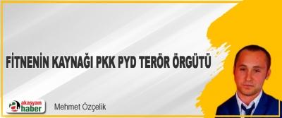 Fitnenin Kaynağı Pkk Pyd Terör Örgütü!