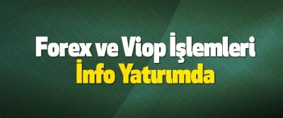 Forex ve Viop İşlemleri İnfo Yatırımda