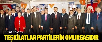 Fuat Köktaş: Teşkilatlar Partilerin Omurgasıdır