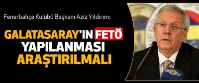 Galatasaray'ın Fetö Yapılanması Araştırılmalı