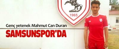 Genç yetenek Mahmut Can Duran Samsunspor'da