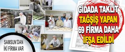 Gıdada Taklit Tağşiş Yapan 69 Firma Daha İfşa Edildi