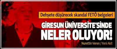 Giresun Üniversite'sinde neler oluyor!