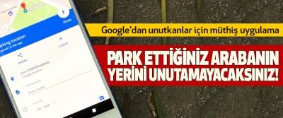 Google'dan unutkanlar için müthiş uygulama