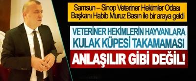 Habib Muruz: Veteriner hekimlerin hayvanlara kulak küpesi takamaması anlaşılır gibi değil!