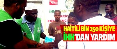 Haitili Bin 250 Kişiye İHH'dan Yardım
