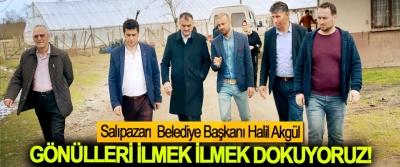 Halil Akgül; Gönülleri İlmek İlmek Dokuyoruz!