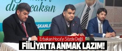 Hasan Bayram Var, erbakan hoca'yı sözde değil fiiliyatta anmak lazım!