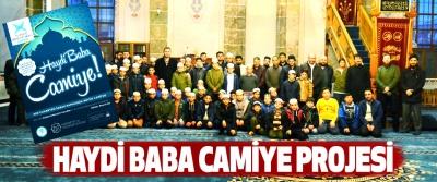 Haydi Baba Camiye Projesi