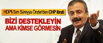 HDP'li Sırrı Süreyya Önder'den