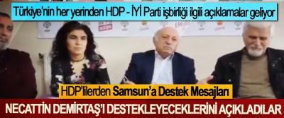HDP'lilerden Samsun'a Destek Mesajları