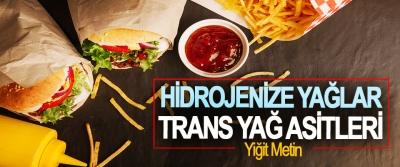 Hidrojenize Yağlar – Trans Yağ Asitleri