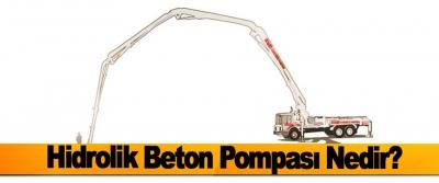 Hidrolik Beton Pompası Nedir?