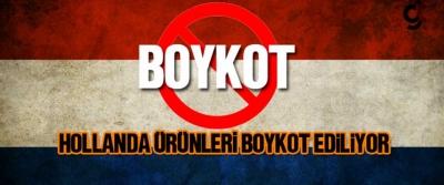 Hollanda ürünleri ve markaları boykot listesi!
