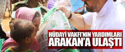 Hüdayi Vakfı'nın Yardımları Arakan'a Ulaştı