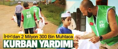 İHH'dan 2 Milyon 300 Bin Muhtaca Kurban Yardımı