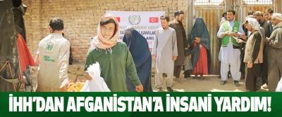 Ihh'dan afganistan'a insani yardim!
