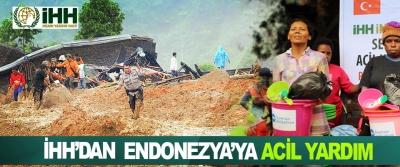 İHH'dan Endonezya'ya Acil Yardım
