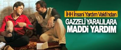 İHH'dan Gazzeli Yaralılara Maddi Yardım
