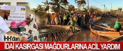 İHH'dan İdai Kasırgası Mağdurlarına Acil Yardım